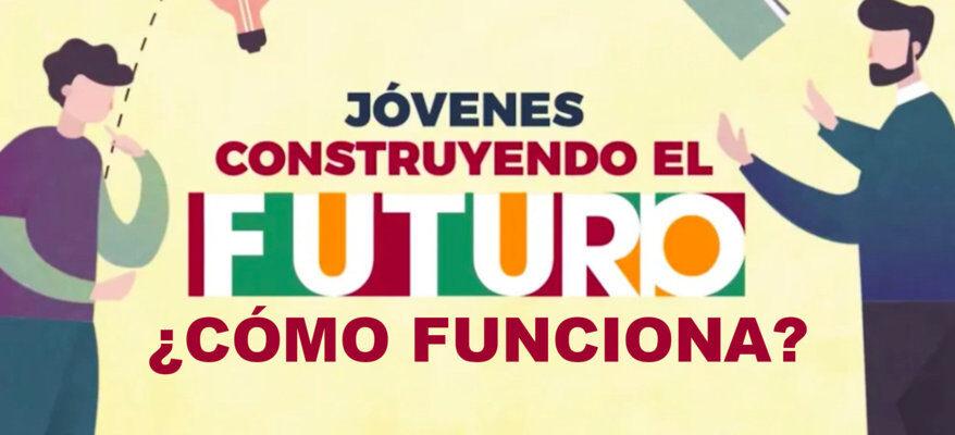 Como funciona Jovenes Construyendo el futuro